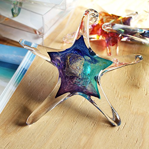 Luke Adams Small Glass Starfish - Starfish Glasses