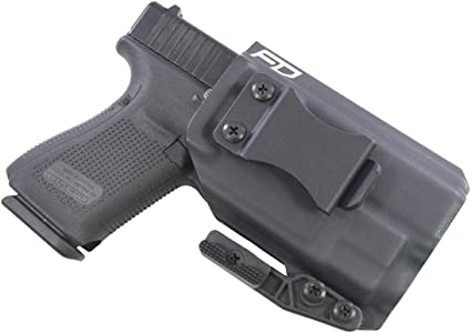 Fierce Defender IWB Kydex Holster Glock 19 23 32 w/TLR7 The Paladin Series -Made in USA- GEN 5 Compatible