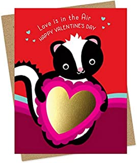 product image for Night Owl Paper Goods Gold Foil Embellished Valentine's Day Card