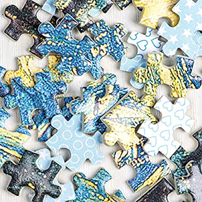 InGooooD -Mini Series-World Mini Jigsaw Puzzle 1000 Pieces White Heaven Paper Puzzle Toys for Adults and Kids: Toys & Games