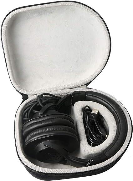 Khanka Duro Viaje Estuche Bolso Funda para Auriculares DJ OneOdio/A70/A71(Caja Solo)(Blanco/Negro): Amazon.es: Electrónica