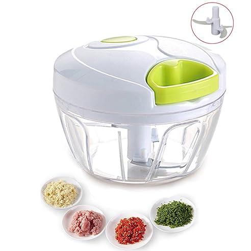 zerkleinerer für obst gemüse zwiebel küche gemüseschneider mit 3