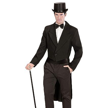 WIDMANN 59031 - Disfraz de FRAC, para Hombre, Color Negro, tamaño Extra-Large