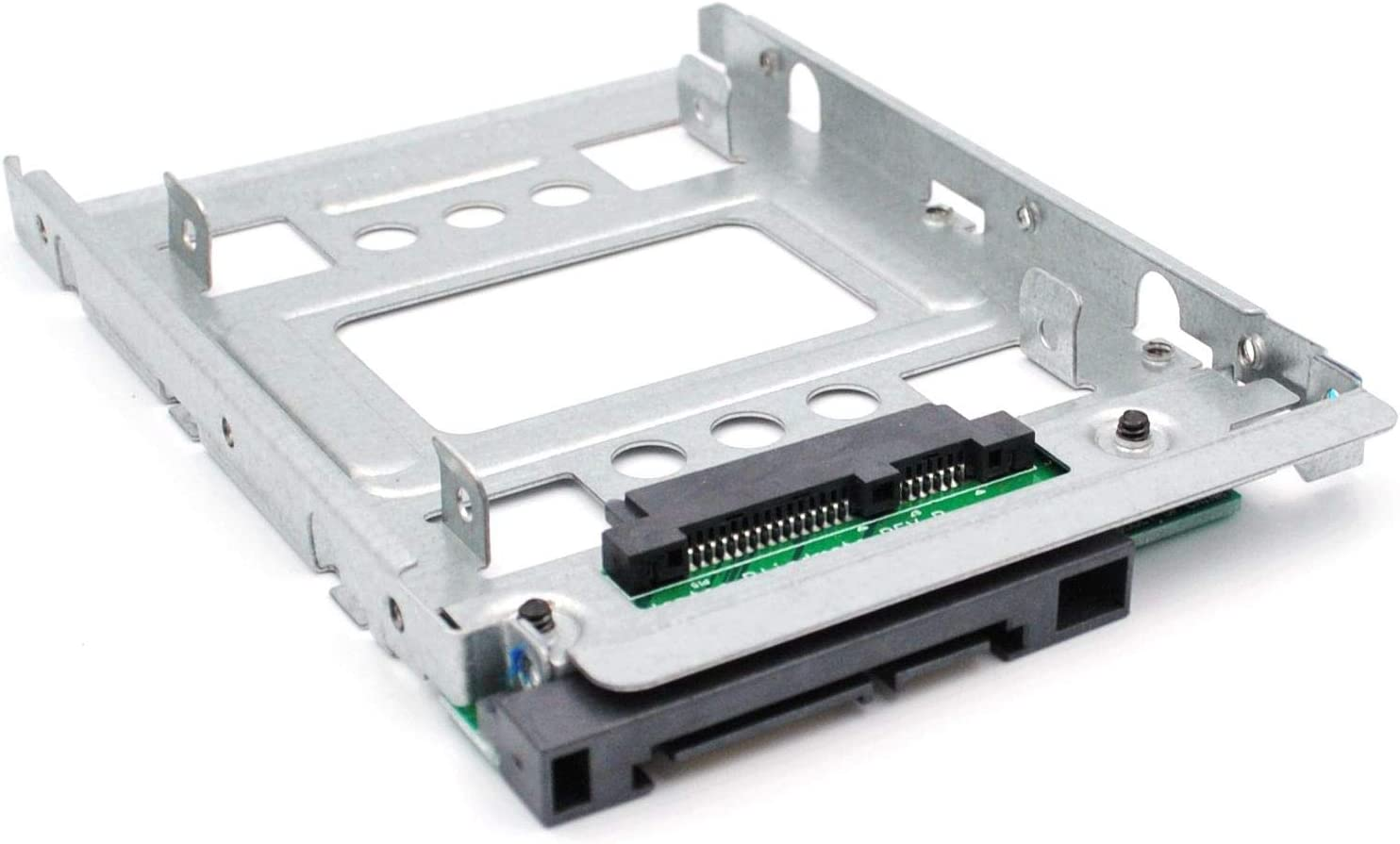 "BTHEBKRS 2.5"" SSD to 3.5"" SATA Hard Disk Drive HDD Adapter Caddy Tray Cage Hot Swap Plug Converter Bracket Compatible with All The 3.5"" SATA/SAS Drive Caddie Trays (654540-001)"