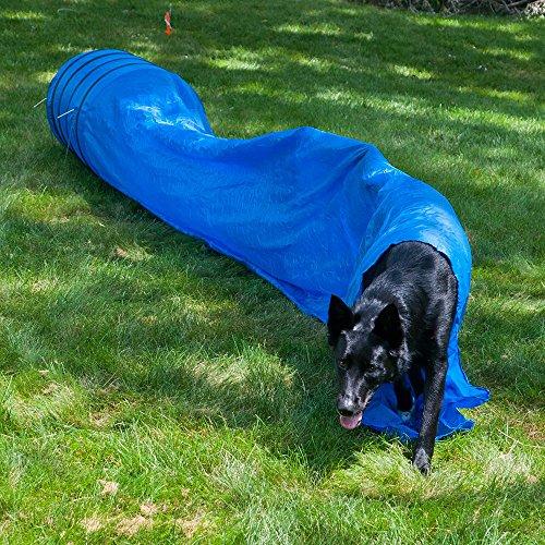 Lixit Dog Agility Closed Tunnel - 16 Feet - 24 inch ()