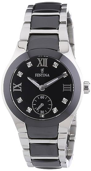 Festina F16588/3 - Reloj analógico de pulsera para mujer (mecanismo de cuarzo,