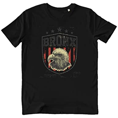 Pushertees-Store - T-Shirt Hombre Black - American Eagle Bronx ...