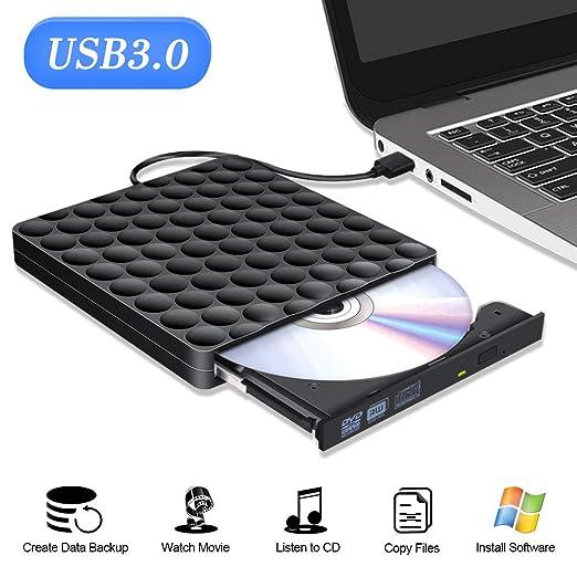 Externes CD Laufwerk USB 3.0 Portable dvd laufwerk extern Superspeed Externes DVD Laufwerk USB Writer Reader Für Laptop mac W