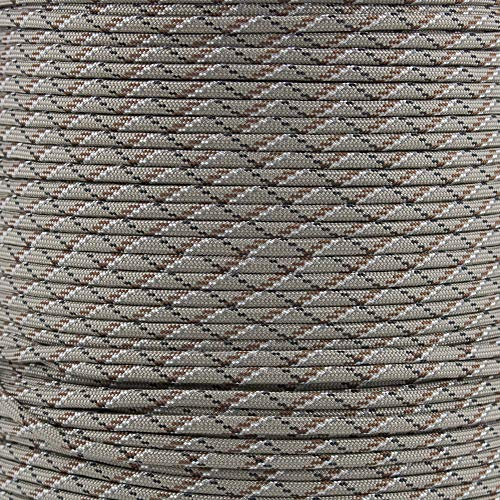 Reflective Type III 550 Paracord - Desert - 10 Ft Hank - 7 Strand Core - 100% Nylon, Parachute Cord, Commercial Paracord, Survival Cord by PARACORD PLANET (Image #1)