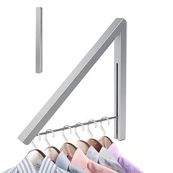 Ebasic Wand Kleiderstander Kleiderhaken Klappbar Garderobenhaken