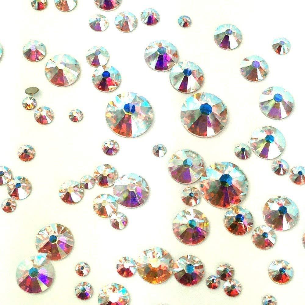 Amazon.com  Swarovski 2058 2088 Crystal Nail Art Mixed Flatbacks  Rhinestones a82b93e6afd