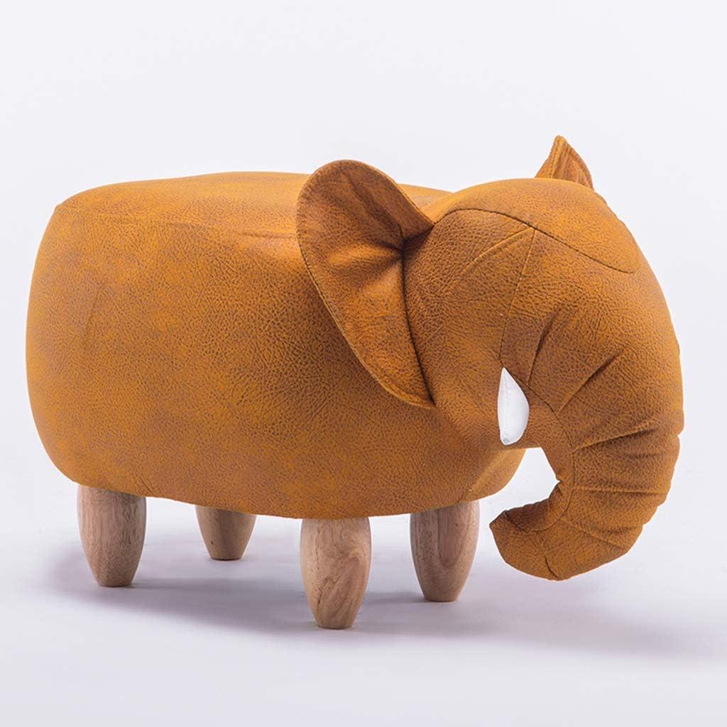 LXP Fu/ßschemel Hocker Tier Hauptkarikatur-Elefant beschuht Bank und Weisemultifunktionssofa-Bank der Kinder LYZ Farbe : A Art