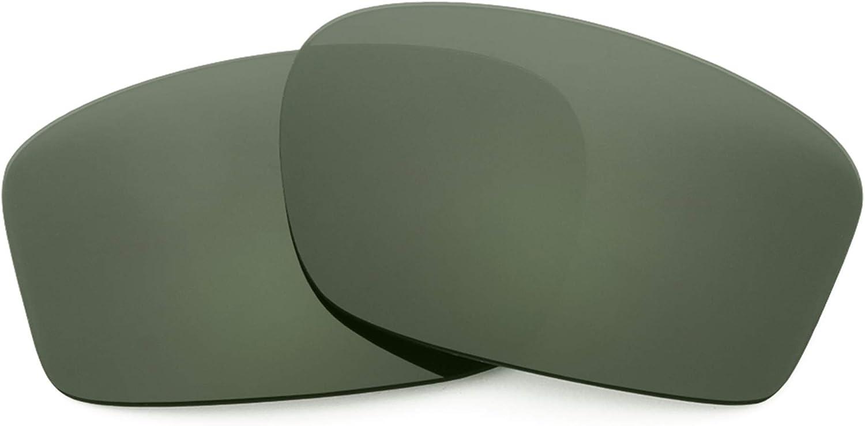 Revant Verres de Rechange pour Oakley Chainlink - Compatibles avec les Lunettes de Soleil Oakley Chainlink Gris Vert - Non Polarisés