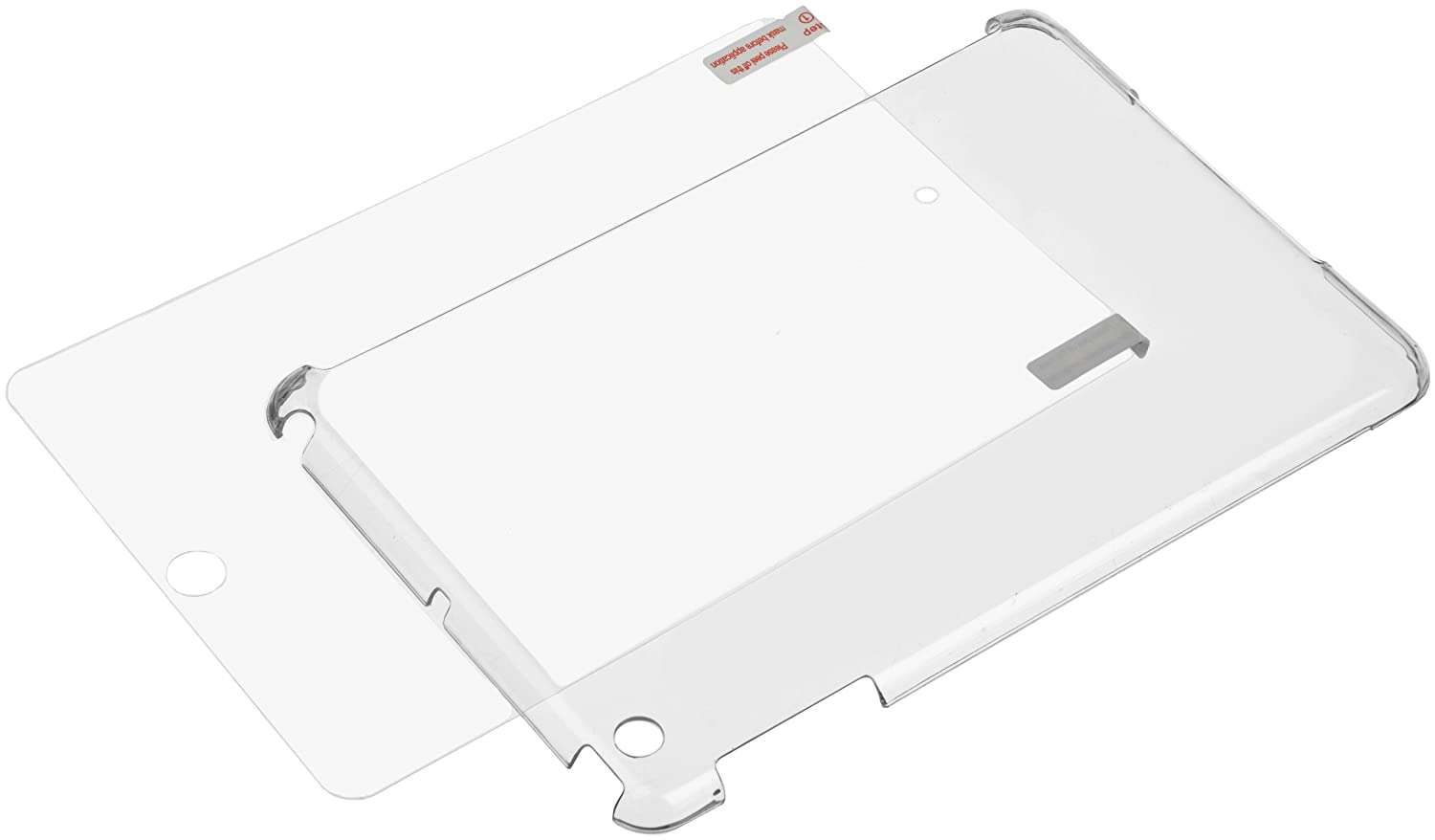 Basics Clear Back Cover for Apple iPad Mini IPAM0308WDTZ