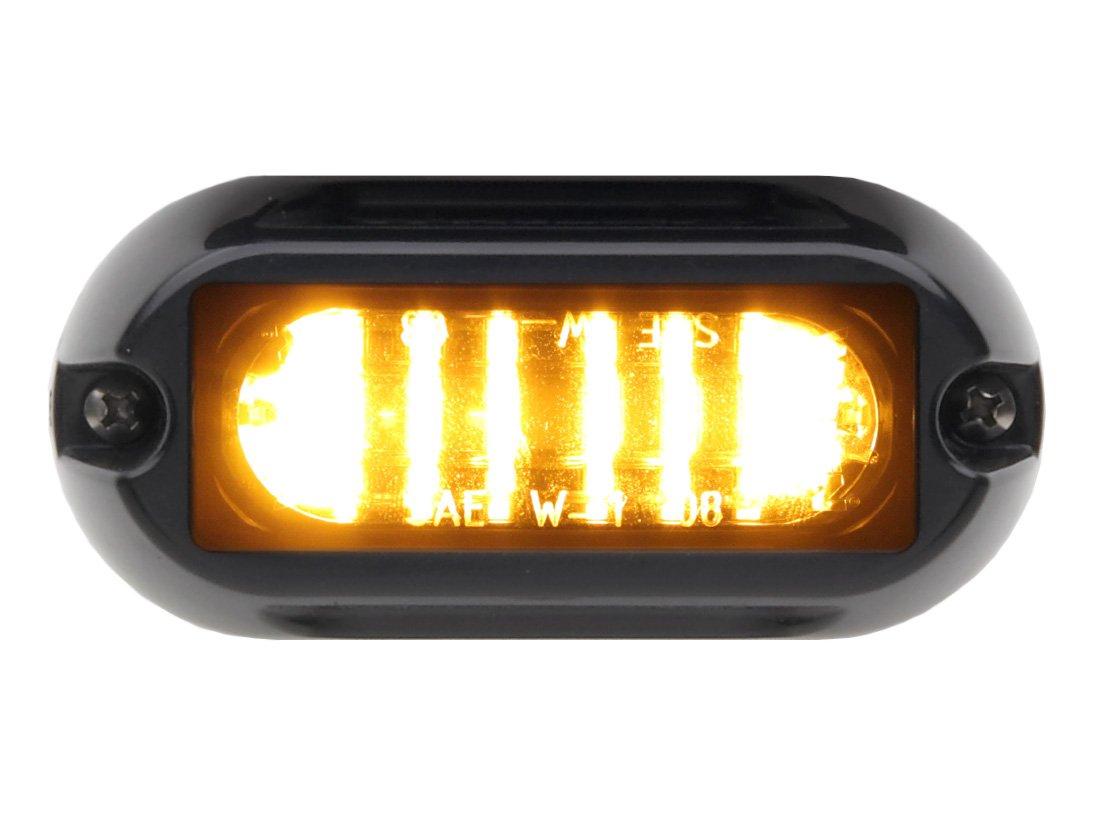 Whelen Engineering LINZ6 Super-LED Lighthead - Amber/Amber LINZ6A