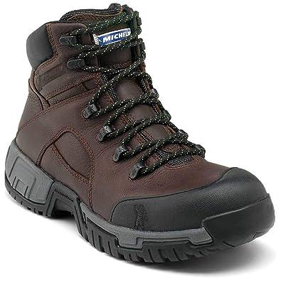 4efcec2bba0 MICHELIN Men's Hydroedge Hitop Steel Toe Boots