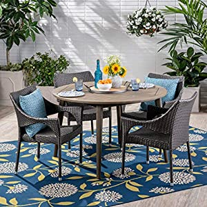61%2BwiRnC5RL._SS300_ Wicker Dining Tables & Wicker Patio Dining Sets