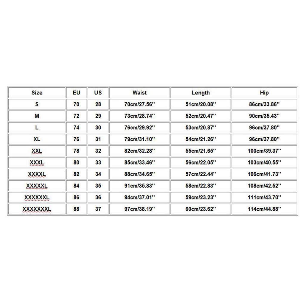 Gro/ße Gr/ö/ße Gerade Shorts f/ür Herren//Skxinn M/änner Sommer Kurze Hose /Übung Overalls Freizeithosen Casual Sport Slim Fit Hosen Regular Fit S-7XL Ausverkauf