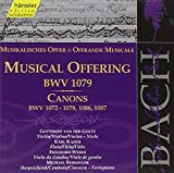 Classical Music : Bach: A Musical Offering BWV 1079 133/ Canons BMV 1072-78