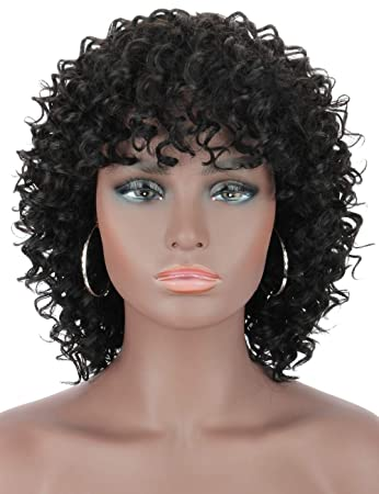 Beauart Short Curly Human Hair Wigs for Black