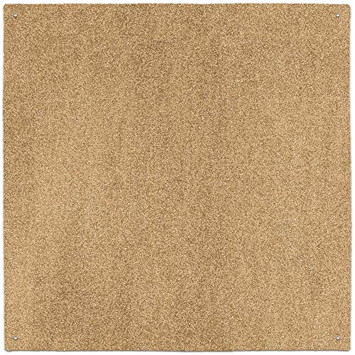 (House, Home and More Outdoor Turf Rug - Wheat - 10' x 10' - Several Other Sizes to Choose From (Renewed))