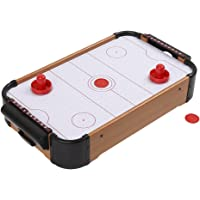 Air Hockey Table, Mini Tabletop Pool Set, Wooden