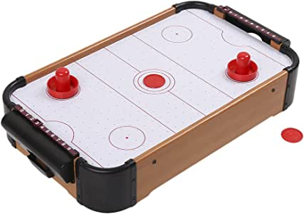 Air Hockey Table, Mini Tabletop Pool Set, Wooden Table MDF Juego ...