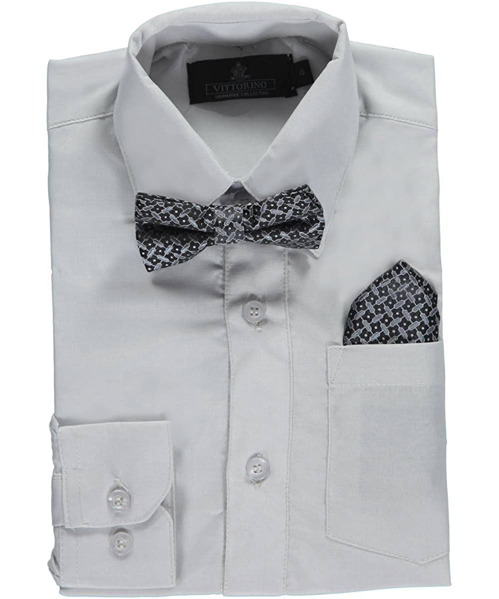 Vittorino Little Boys' Dress Shirt with Accessories 7