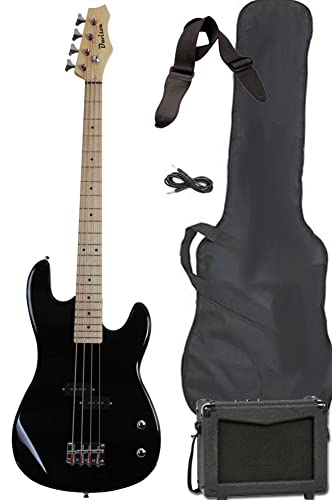 Davison Guitars Full Size Electric Bass Guitar Starter Pack