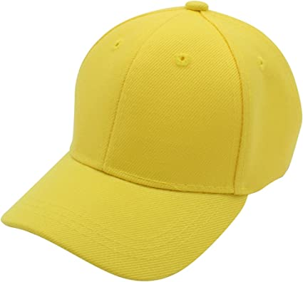 Top Level Baby Baseball Cap Hat-100/% Durable Sturdy Polyester Hat