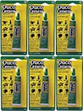Duco Cement Multi-purpose Adhesive Craft & Home Glue 1 Fl Oz ~Lot of 6 Tubes by ITW Devcon