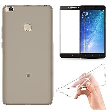 Xiaomi Mi Max 2 Funda, EUGO Transparente TPU Gel de Silicona ...