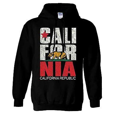 amazon com dolphin shirt co california flag vintage retro text asst