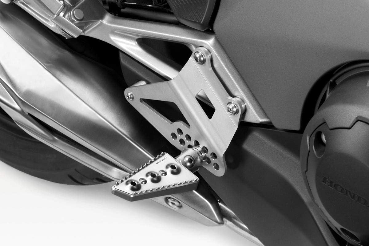 - 100/% Made in Italy Kit Zus/ätzliche Fussrasten Integra 750 2014//19 Hardware-Bolzen Motorradzubeh/ör De Pretto Moto - Fu/ßrasten Fu/ßst/ützen Fussst/ützen DPM Race R-0811 inkl
