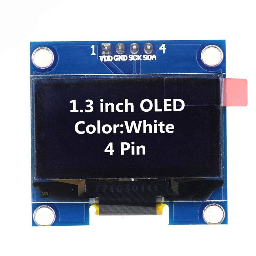 Sodial 13 Inch Ssd1106 I2c 128x64 Oled Display Module Wiringpi Lcd Electronics