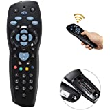 Tersely TV Remote Controller Replacement Device for PayTV IQ2 IQ3 S1 / Foxtel Box/Sky New Zealand/Mystar HD (Black)