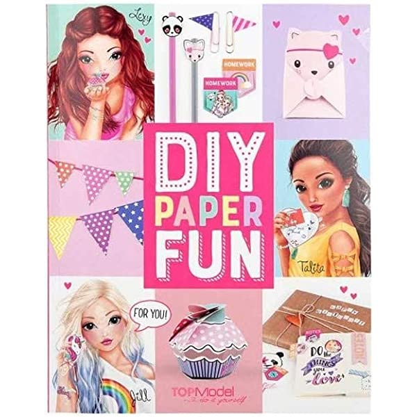 Top Model- DIY Paper Fun Book, Multicolor (Depesche 1): Amazon.es ...