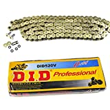 DID 520V O-Ring Chain with 120 Links ATV Motorcycle MX GOLD 520 Pitch HEAVY DUTY
