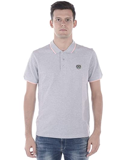 fafb4ba4 Kenzo Polo Classic Tiger Logo K-FIT Slim 5PO001 4BA: Amazon.co.uk ...