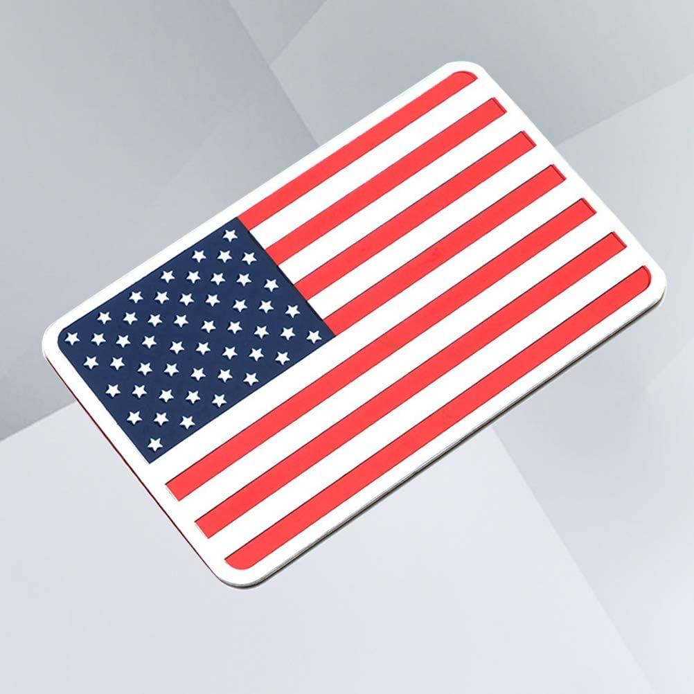 Vosarea Amerika Flagge Auto Emblem Aufkleber Stoßstange Abzeichen Aufkleber Karosserie Dekoration Rechteckig Küche Haushalt