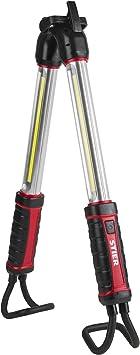 LED Werkstattlampe Stablampe Stableuchte Akku mit 60 LED bis 10 Std.Leuchtdauer
