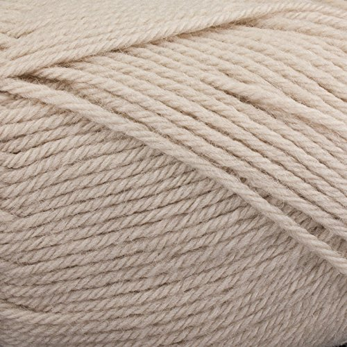 Plymouth Galway 100% Wool (Plymouth Galway Worsted Yarn: Almond, 0112, 43345)