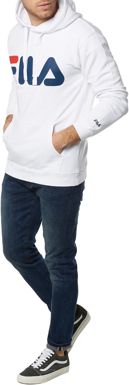 Fila Classic Logo Hoody, Sweatshirt Weiß