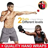 Boxing Ball on String, Complete Boxing Set with 2