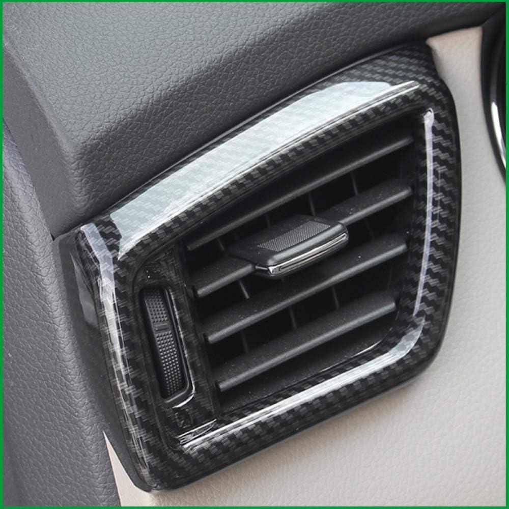 f/ür Nissan X Trail XTrail T32 Rogue 2015 2017 Gnnlor Innenraumbel/üftungs/öffnungs-Auslass-Abdeckungs-Ordnung LHD