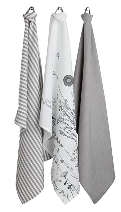 JYSK toalla de té (tigerlilja 50 x 70, 3/PK, color gris: Amazon.es: Hogar