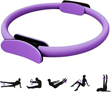Visser Pilates Ring-Advanced Yoga Fitness Magic Circle Pilates Circle can Shape The Whole Body, Train The Legs, Inner Thighs and arms to Exercise The Lower Body