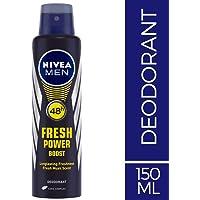 NIVEA MEN Deodorant, Fresh Power Boost, 150ml