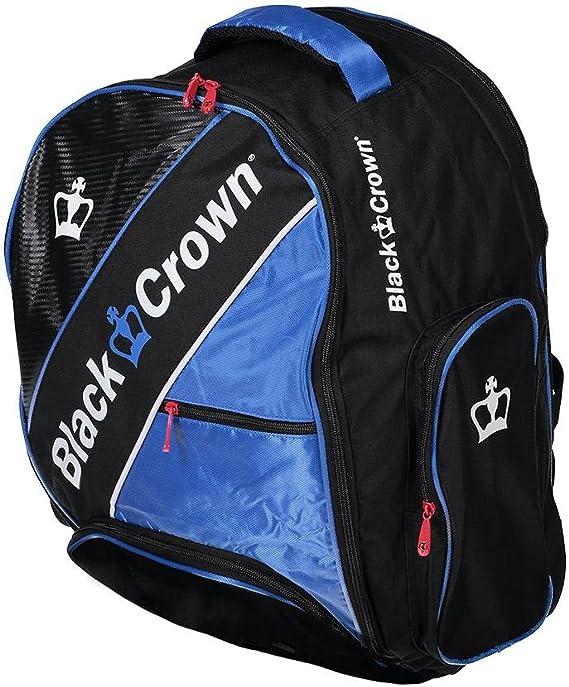 Mochila padel Black Crown Sack (Azul): Amazon.es: Deportes y aire ...
