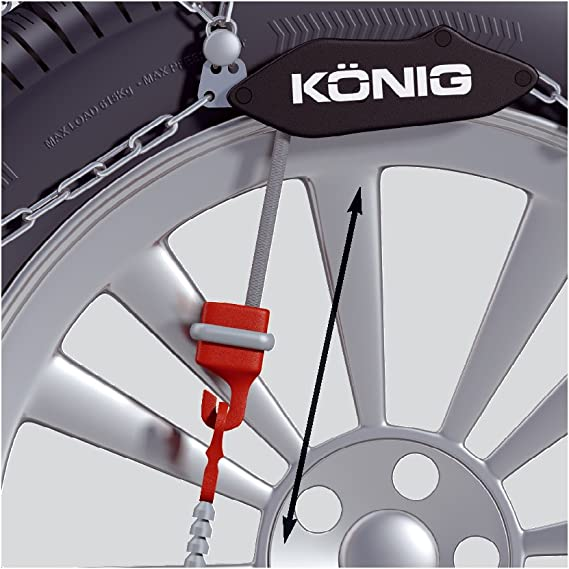 2 Units Lampa 16074 Snow Chains 9 mm